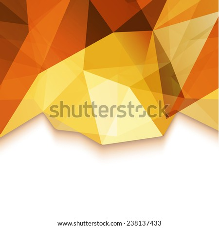 Abstract geometric pattern background - eps10 vector - stock vector
