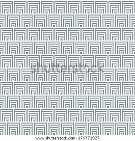 abstract geometric pattern background. grey background. greek pattern background. - stock vector