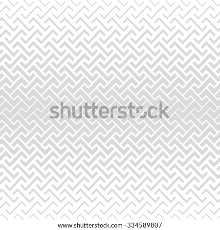 Abstract geometric pattern style halftone. A seamless vector background. Gray and white texture. - stock vector