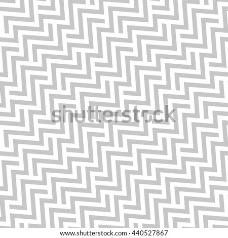Abstract geometric pattern with stripes, lines. A seamless vector background. Gray and white texture. Stylish graphic pattern. - stock vector