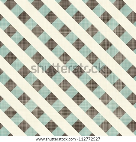 abstract geometric retro seamless blue and grey background - stock vector