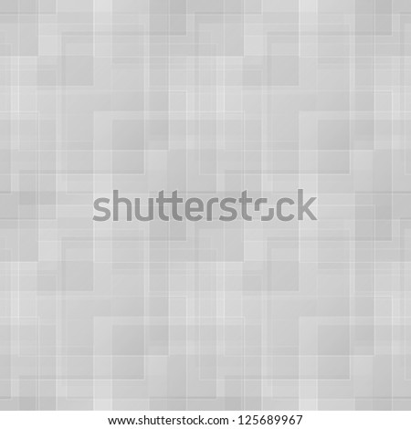 Abstract geometric seamless gray vector pattern - stock vector