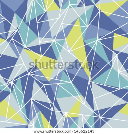 Abstract geometric seamless pattern background. Great for web page background. - stock vector