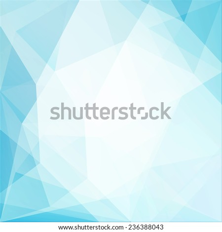 Abstract geometric triangles background - eps10 - stock vector