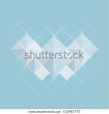 Abstract geometrical background - stock vector