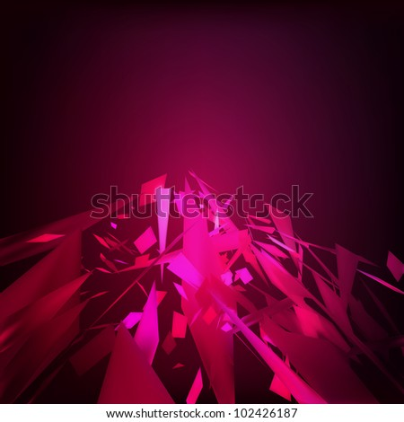 Abstract geometrical moresque background. EPS 8 vector file included - stock vector