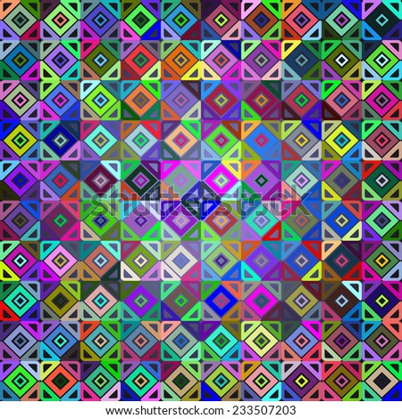 abstract geometry pattern for your background - stock vector