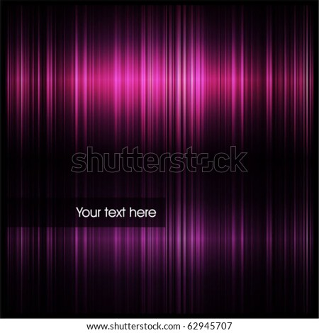 Abstract glowing lights - stock vector