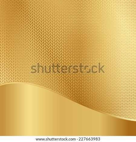 Abstract golden background,vector illustration - stock vector