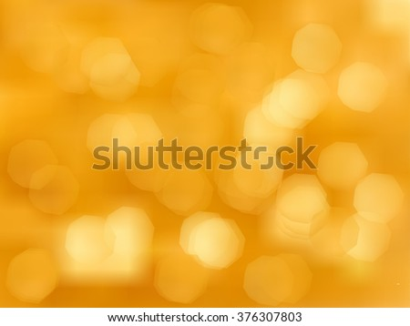 Abstract Golden Holiday Background bokeh effect. Burst, sparkle, stars. Vector EPS 10 illustration for your design and business - stock vector