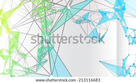 Abstract graphic background. - stock vector