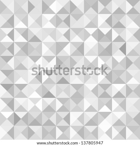 Abstract Gray Geometric Technology Background, vector illustration - stock vector