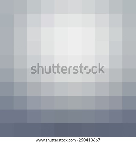 Abstract gray mosaic background - Vector - stock vector