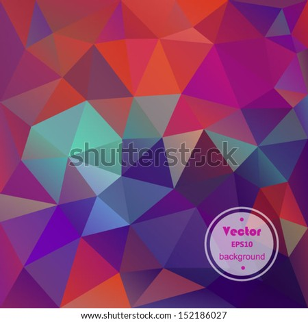 Abstract green and pink. EPS 10 vector file included - stock vector