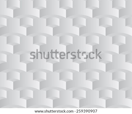 abstract grey seamless pattern - stock vector