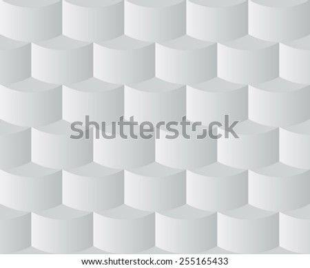 abstract grey squama seamless pattern - stock vector