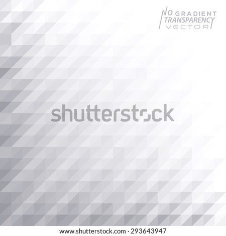Abstract grey & white geometric background - stock vector