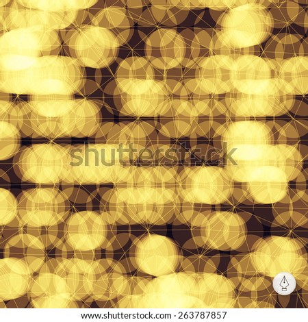 Abstract grid background. 3d technology vector illustration. Can be used for banner, flyer, book cover, poster, web banners. - stock vector