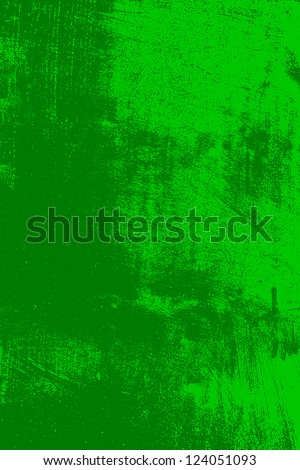 Abstract grunge background - green scratched texture. EPS10 vector illustration. - stock vector