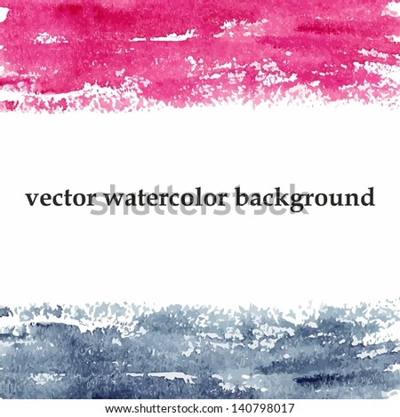 Abstract grunge background. Urban style. Watercolor spots. - stock vector