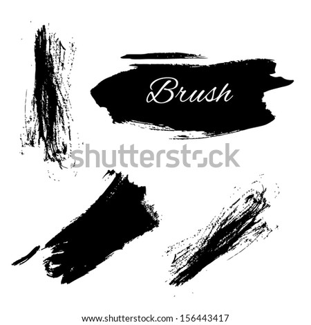 Abstract grunge elements - stock vector