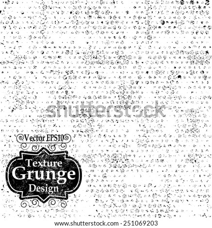 Abstract Grunge Texture with Halftone Dots . Vintage Background . Dotted Texture . Retro Background . Vector Background. - stock vector