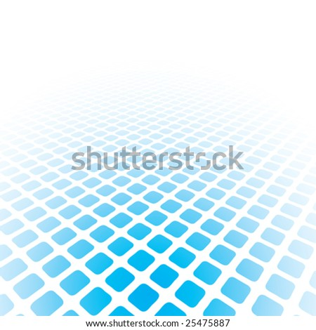 abstract halftone background with copy space, vector illustration - stock vector