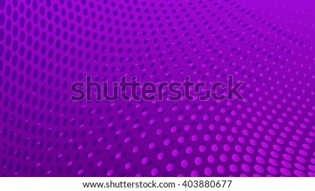 Abstract halftone dots background in violet colors - stock vector