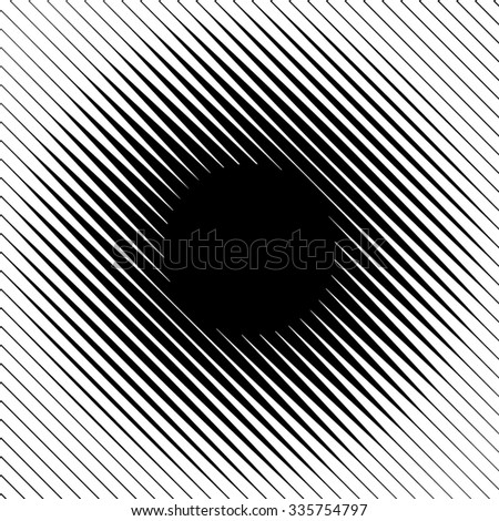 Abstract Halftone Lines Background. Vector Illustration - stock vector
