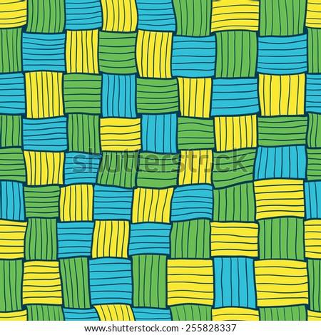 Abstract hand-drawn matting seamless pattern - stock vector