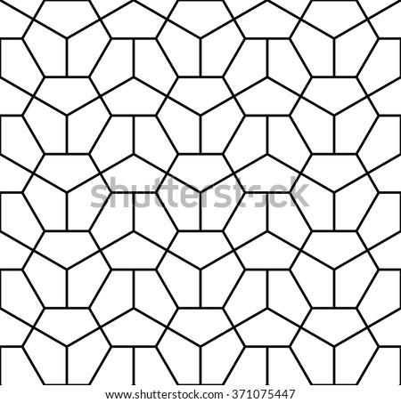 abstract hexagon pattern,hipster hexagon pattern,seamless hexagon geometric pattern,black white  hexagon pattern,graphic design hexagon pattern,hexagon pattern fashion,hexagon pattern print art deco - stock vector