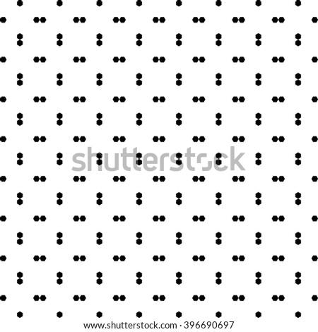 abstract hexagon seamless pattern, vector illustration - stock vector