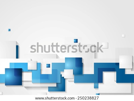 Abstract hi-tech geometric background. Vector design - stock vector