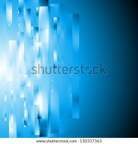 Abstract hi-tech modern template. Vector background eps 10 - stock vector