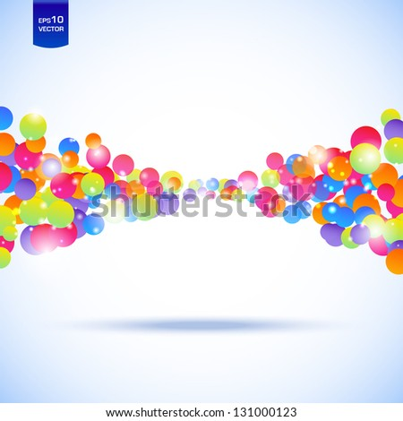 Abstract illustration with space for your business message - stock vector