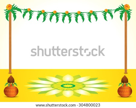 abstract indian celebration background vector illustration - stock vector