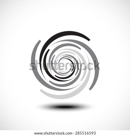 Abstract Infinite Loop icon - stock vector