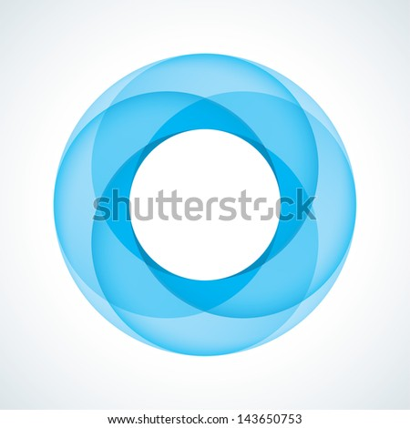 Abstract Infinite Loop Sign Template. Corporate Icon - stock vector