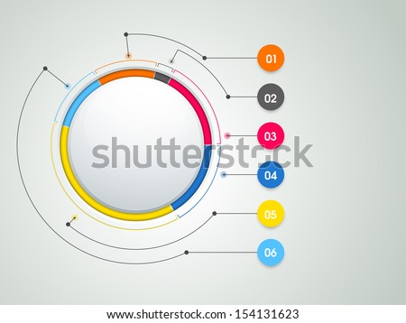 Abstract infographics templates. - stock vector