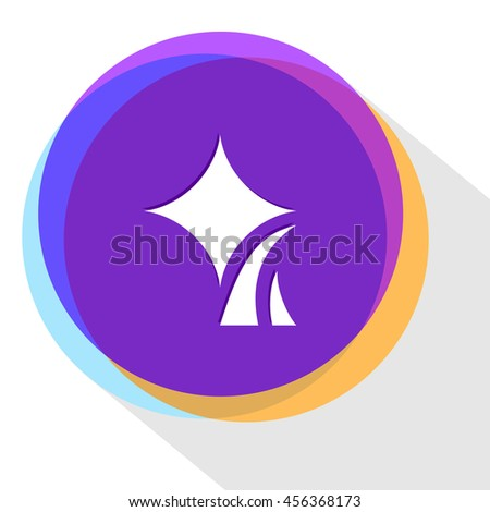 Abstract internet icon. Vector illustration. - stock vector