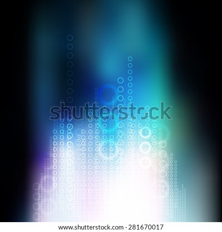 abstract internet signal communication, vector technology telecoms background - stock vector