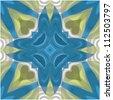 Abstract kaleidoscope background . Vector illustration - stock vector