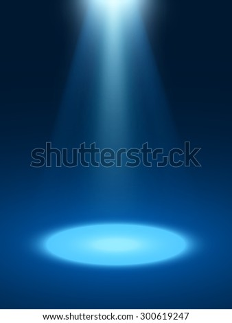Abstract light blue background. - stock vector