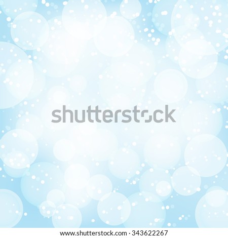 abstract light blue background with light effects. vector - stock vector