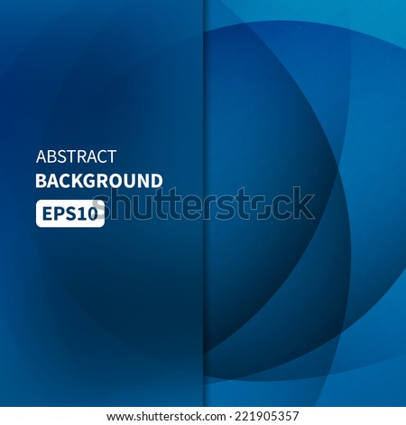 Abstract light blue vector background EPS10 - stock vector