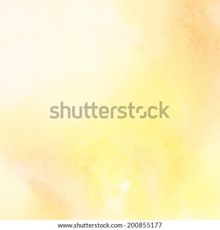 Abstract light color watercolor background - stock vector