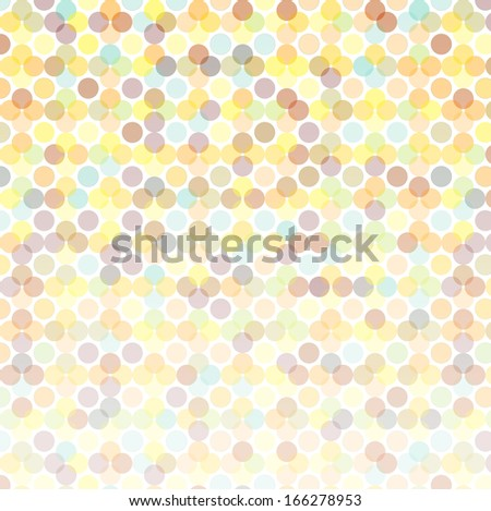 abstract light colored background children`s tints vector seamless pattern - stock vector