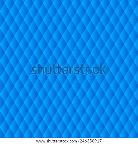 Abstract light lines blue color vector background - stock vector