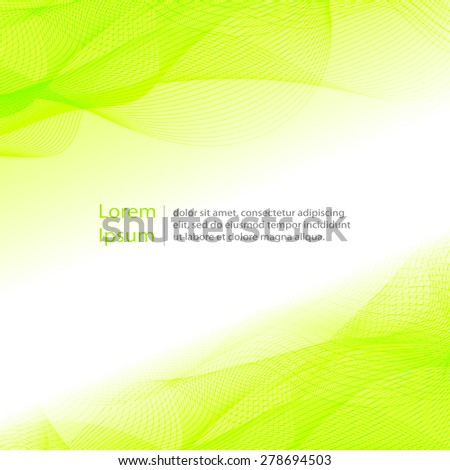 Abstract  light template background. Eps 10 vector illustration.  - stock vector