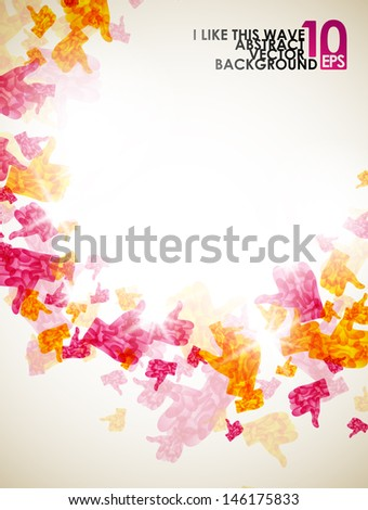 abstract like, eps10 - stock vector